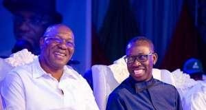 Kingsley Otuaro and Ifeanyi Okowa