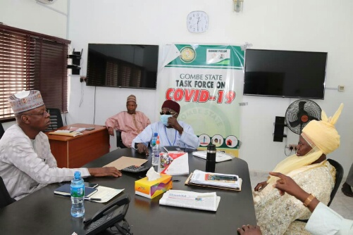 Covid-19: Gombe Gets Support from Veritas Kapital Insurance 1