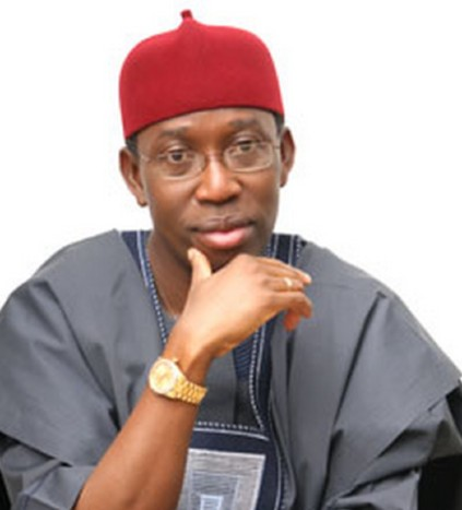 Senator Ifeanyi Okowa speaks as delta records death