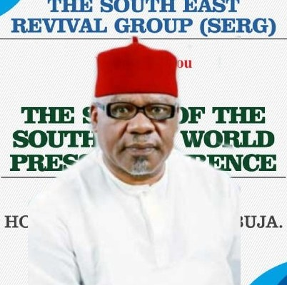 Chief Willy Ezugwu President of SERG
