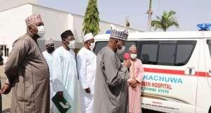 Zainab Bulkachuwa Donates Ambulance to Gombe Hospital Named After Her