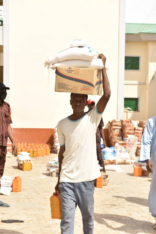 COVID-19: Distribution of Palliatives, Relief Materials Continues in Gombe