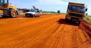 Governor Inuwa Yahaya inspects ongoing Nayi Nawa- Wuro Shi'e- Bye-pass Road Project 4