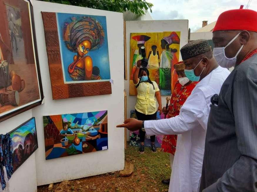 Enugu State @29 Ugwuanyi Inspects Artifacts