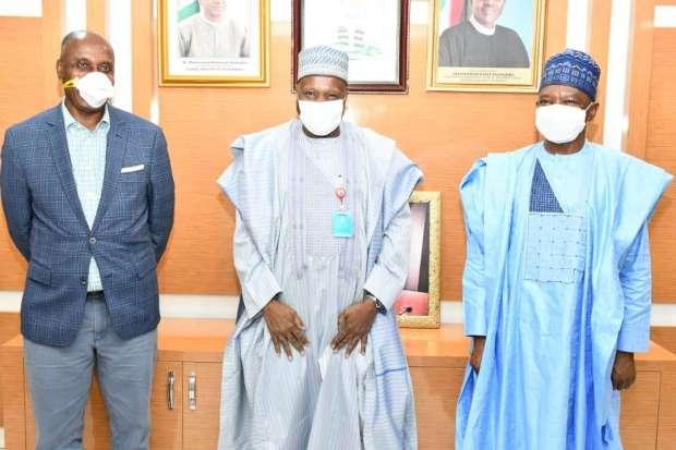 Governor Inuwa Yahaya visits Federal Ministry of Environment
