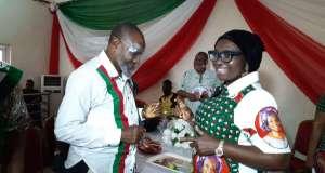 Senator Ekwunife hosts Anambra State PDP LG, Ward Chairmen
