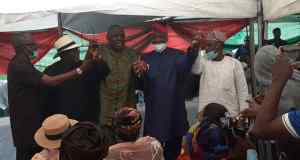 PDP S/West Congress: Eddy Olafeso Secures Support of Fayose, Adebutu, 4 States Chairmen, Others