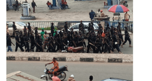 Hunters Storm Protest Ground in Osogbo