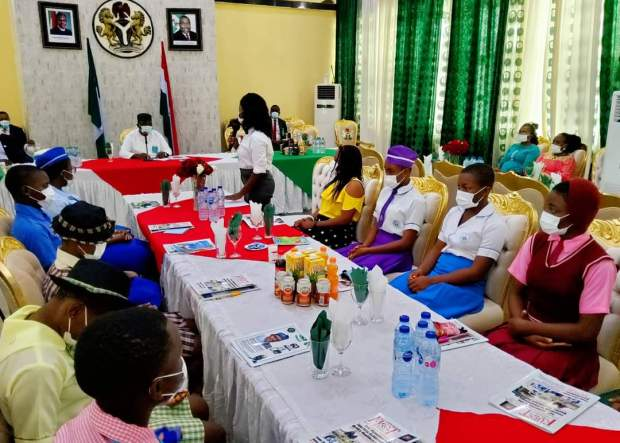 Governor Ugwuanyi Hailed for Promoting Girl Child's Wellbeing