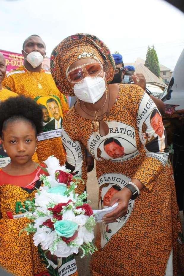 Mrs Obiano palliatives