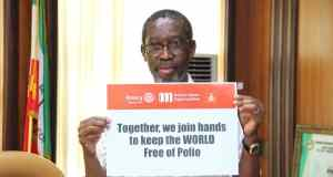Okowa Calls for Efforts to Keep Polio at Zero Level  Okowa Calls for Efforts to Keep Polio at Zero Level