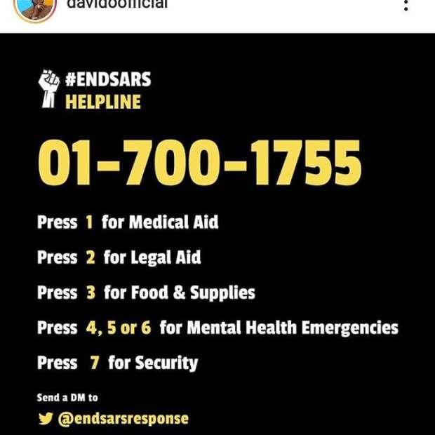Irrepressible: #EndSARS Helplines, Charging Ports Set Up as Army Denies Targeting Protesters