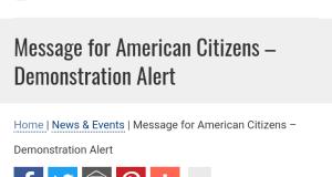 US Consulate shut down