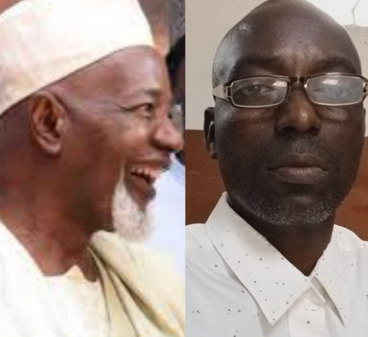 Balarabe Musa and Awa Bamiji