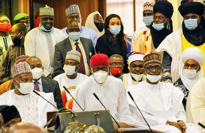 Gombe Governor Witnesses Swearing-in of Justice Adamu Jauro as Supreme Court Justice