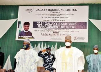 Governor Inuwa Yahaya Seeks Partnership with Galaxy Backbone on Gombe 10-year Development Plan, Digital Infrastructure