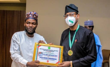 ALGON National President, Alabi David Bags 3 Awards From Northern Youths