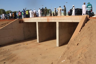 Governor Inuwa Yahaya Begins Compensation Payment, Flags-off Gombe State University - Malam Inna - Kagarawal Erosion Control