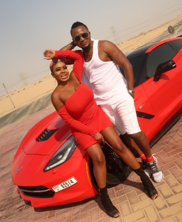 Onyeka Simon Egboghu popularly known as Overall on Set