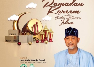 ALGON National President at Ramadan