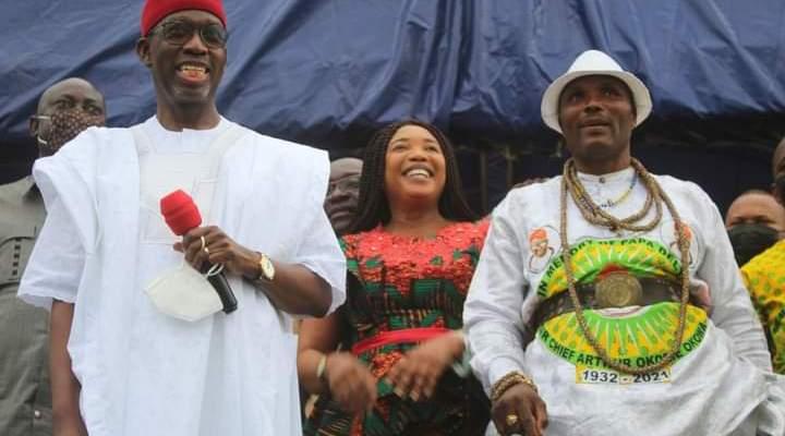 Delta Political Vanguard, great pillar of support - Okowa