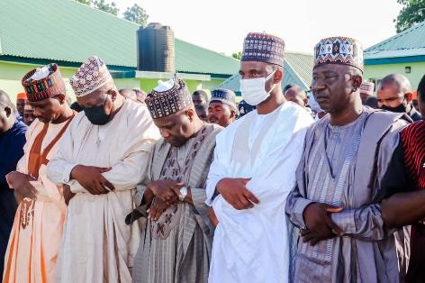 Gombe Governor Attends Funeral Prayer ( Janazah) of Late Ahmad (Khalifa) Sagir