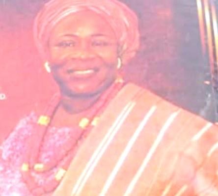 Grace Omotayo Abraham Adesanya wife of late Pa Abraham Aderibigbe Adesanya