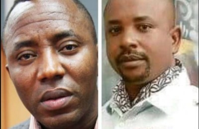 Omoyele Sowore and his Younger brother Felix Olajide Sowore