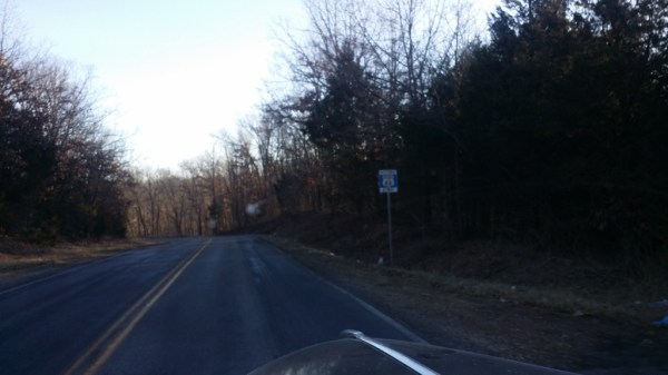 A section of Route 66 between Strafford and Marshfield