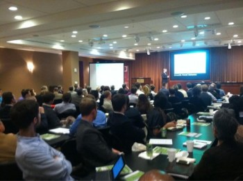 Chuck Marohn presenting at the ULI YLG Annual Program