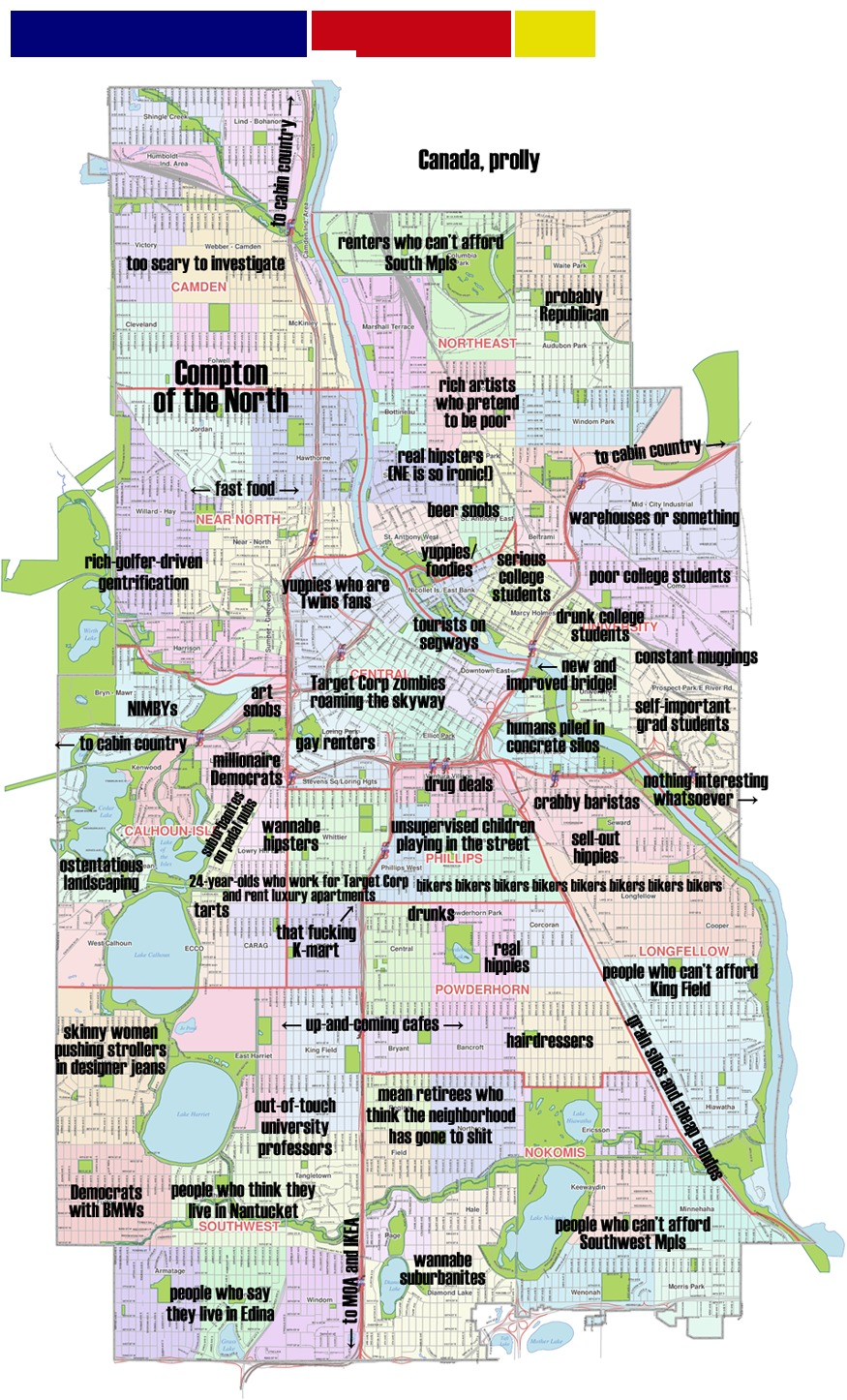 Why I M Proud To Be Offended By The Judgemental Map Of Minneapolis