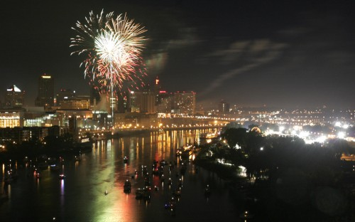 Fireworks, St. Paul, Minnesota
