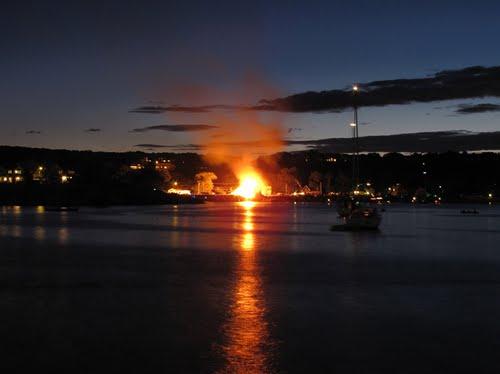 rockport bonfire