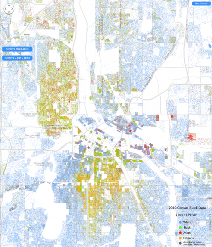 Dustin Cable's Racial Dot Map