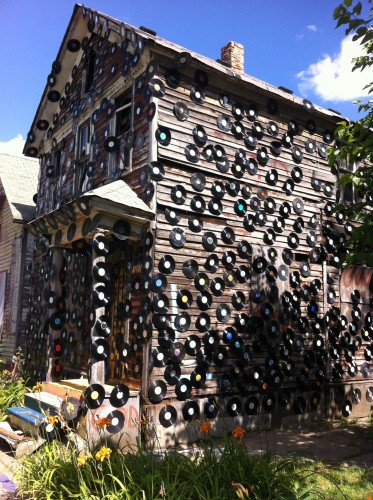 The record house, The Heidelberg Project.