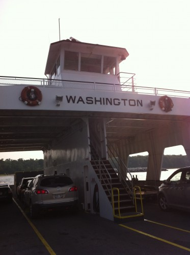 Washington ferry boat, the largest one in the fleet.