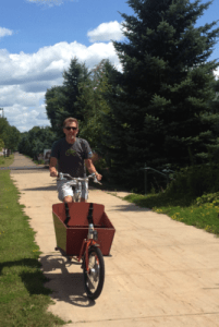 bakfiets, nice ride, shoreview