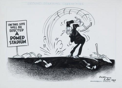 """Groundbreaking Ceremony,"" by Scott Long, 1976"