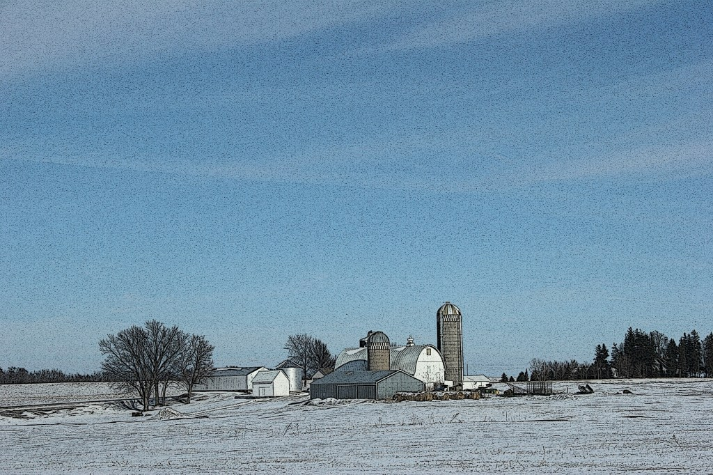 I envision these fields seeded in corn or soybeans.