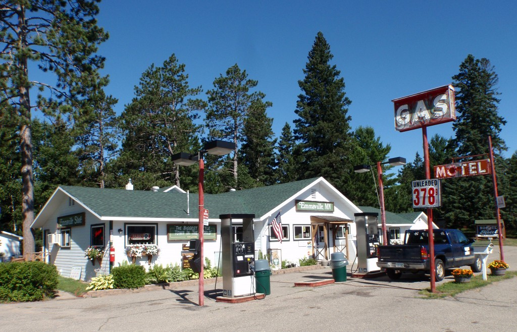 The Emmaville Store stood dark and empty when Mike and Melinda Spry purchased it in 2010. They cleaned an renovated the combination cafe, bar and convenience store before reopening the business in January 2011. The vintage motel and gas signage dates back to the 1950s or 1960s.