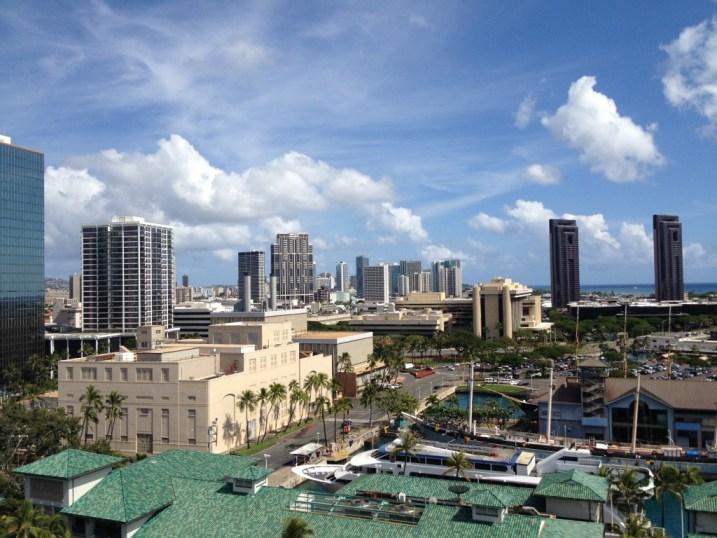 Urban Core of Honolulu