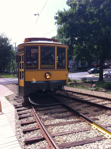 Como-Harriet line - a vestige of Twin Cities Rapid Transit (photo by author)