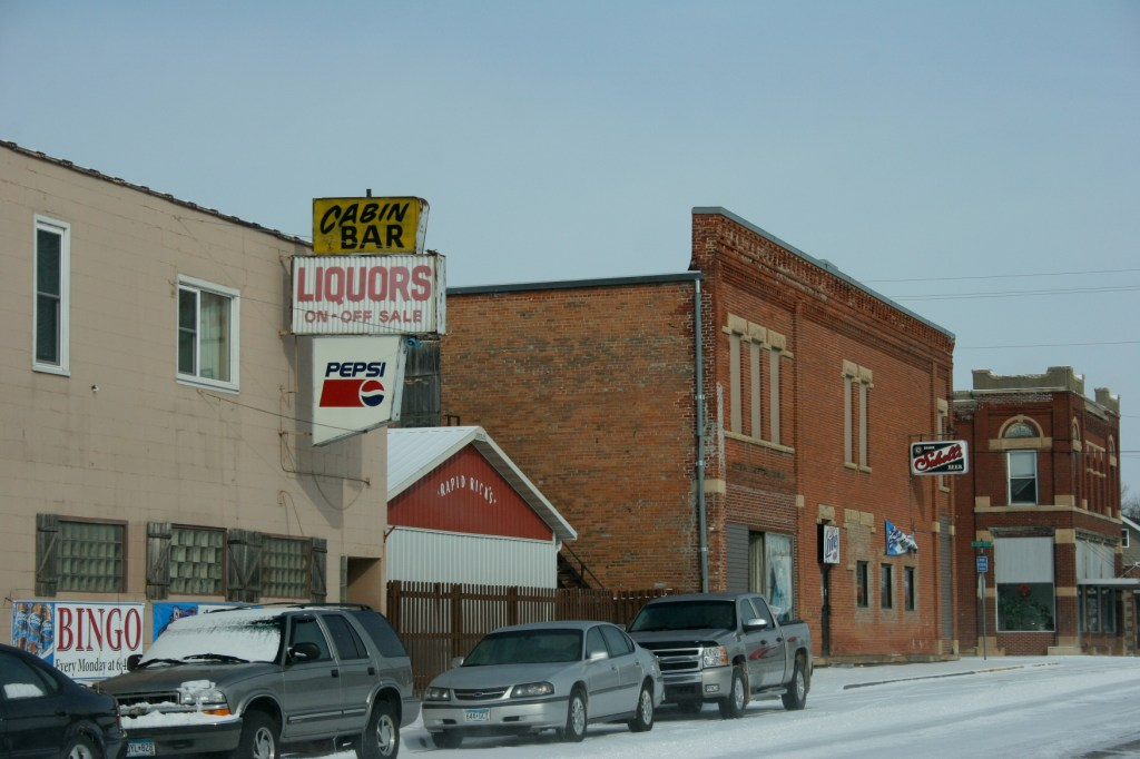 The seemingly popular Cabin Bar in Nicollet, photographed two years ago.