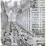 Popular Science Image of Congestion Solutions - The City of 1950