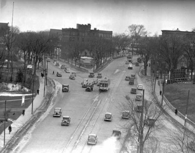 mpls hennepin and lyndale 1937