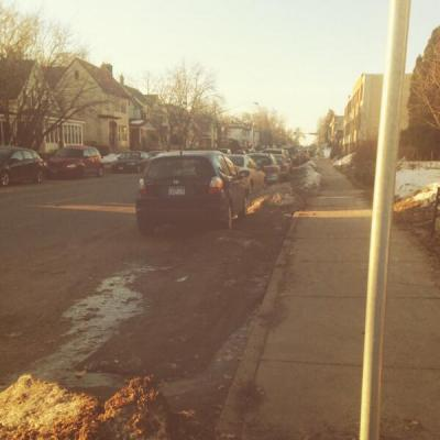 winter traffic calming hennepin