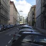 On-street parking in Vienna