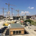 Housing development rising in Aspern