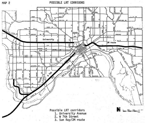 stp 1978 LRT route map