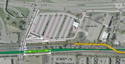 Planned Belt Line Station